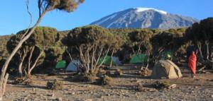 Zelttrekking auf den Kilimanjaro über die Machame-Route