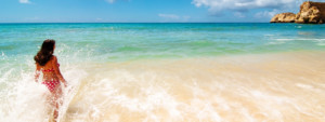Sommerurlaub am Strand Mexiko 2017