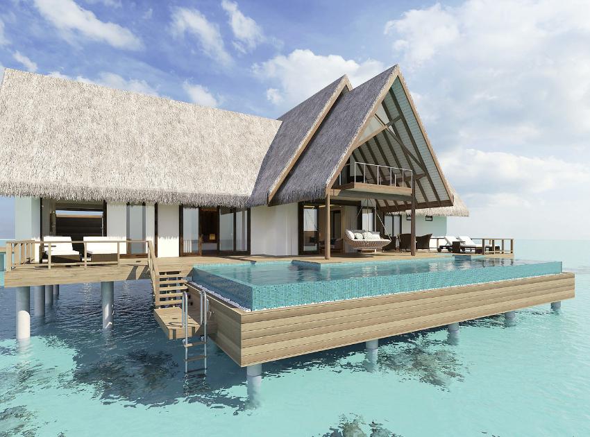 Luxusresort Neueröffnung auf den Malediven